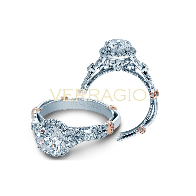 Verragio Parisian Collection Engagement Ring DL-109R-GL