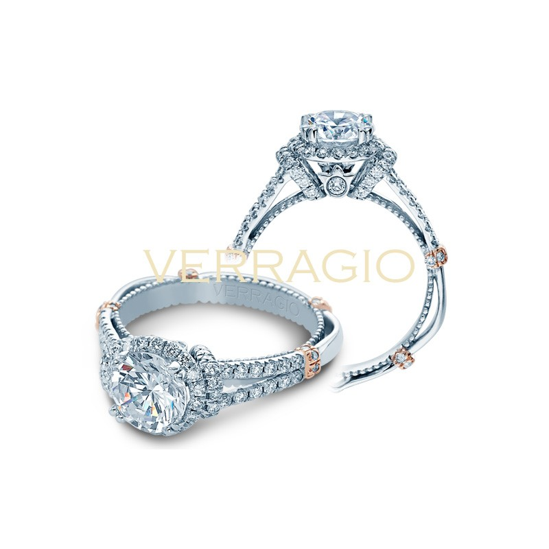 Verragio Parisian Collection Engagement Ring DL-117R-GL