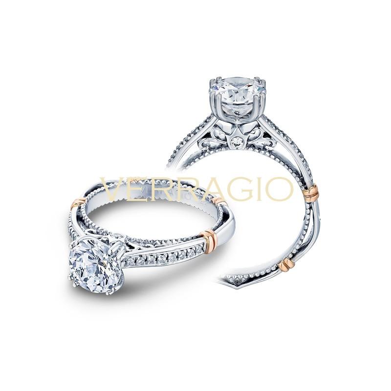 Verragio Parisian Collection Engagement Ring D-101S-GOLD