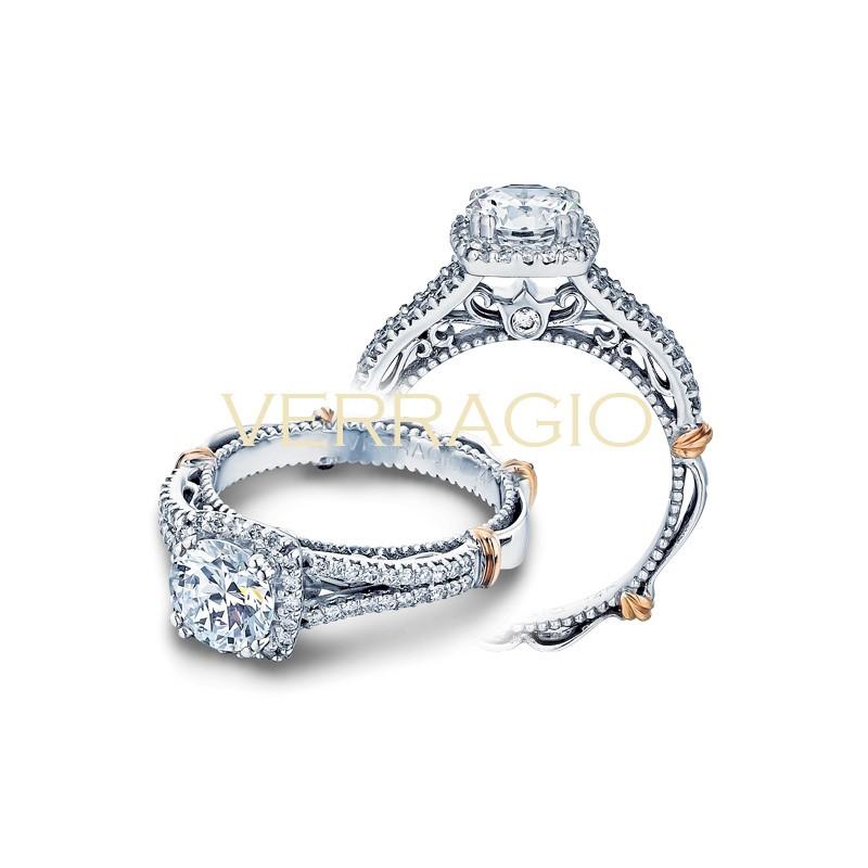 Verragio Parisian Collection Engagement Ring D-107CU-GOLD