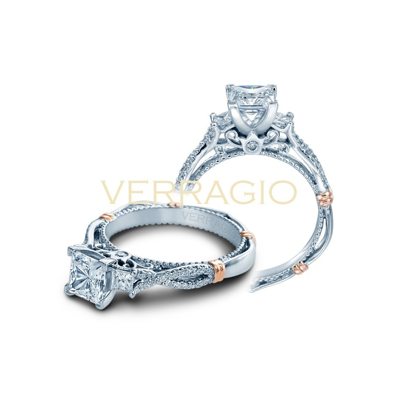 Verragio Parisian Collection Engagement Ring D-129P-GOLD