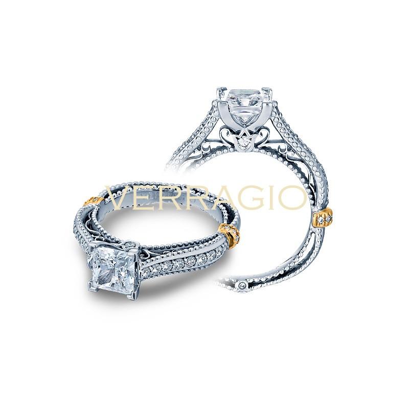 Verragio Graduated Pave Diamond Engagement Ring