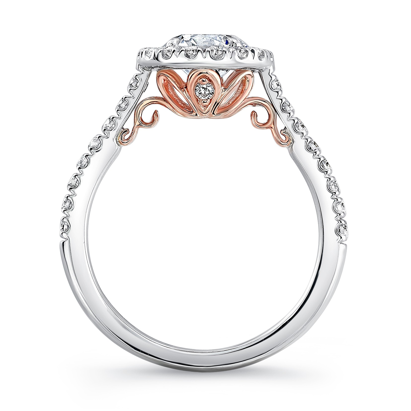 image gold ct rings loading milgrain is jewellery princess diamond itm ring engagement d cut solitaire rose
