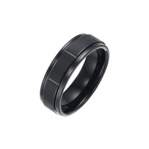 Triton 7mm Tungsten Carbide Comfort Fit Band 11-01-2229