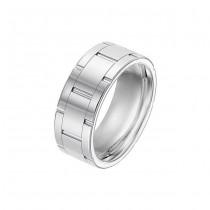 Triton 9mm Tungsten Carbide Bright Polish Comfort Fit Band 11-01-3294