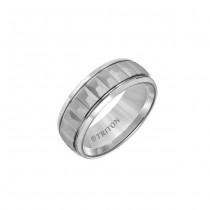 Triton 8mm White Tungsten Band 11-01-5940