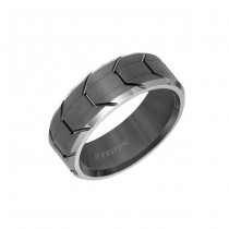 Triton Tungsten Carbide Comfort Fit Men'S Band 11-01-5983