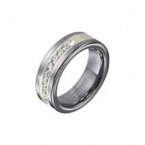 Triton 8mm Tungsten Carbide Comfort Fit Wedding Band 21-2388