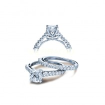 Verragio Shared-Prong Diamond Engagement Ring