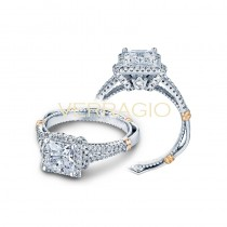 Verragio Parisian Collection Engagement Ring D-117P-GOLD
