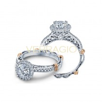 Verragio Parisian Collection Engagement Ring D-119R-GOLD