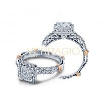 Verragio Parisian Collection Engagement Ring D-123P-GOLD