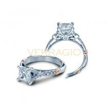Verragio Parisian Collection Engagement Ring D-126P-GOLD