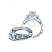 Verragio Parisian Collection Engagement Ring D-129R-GOLD