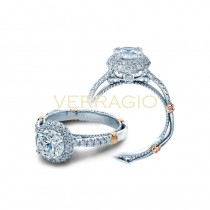 Verragio Parisian Collection Engagement Ring D-133RD-GOLD