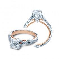 Verragio Pave Twist Diamond Engagement Ring
