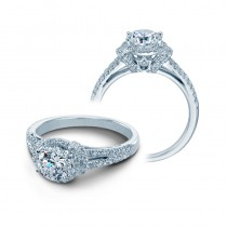 Verragio Split Shank Pave Diamond Engagement Ring