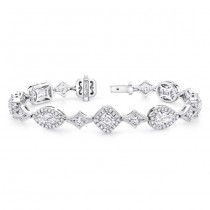 "The Uneek ""Everything"" Diamond Bracelet, in Platinum"