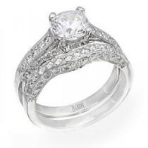 Breathtaking Zeghani Diamond Wedding Set