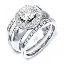 Stunning Diamond Wedding Band and Engagement Ring