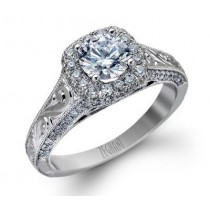 Breathtaking Zeghani Engagement Ring