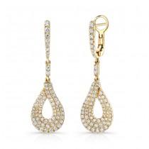 Uneek Dangle Diamond Earrings LVEW694Y