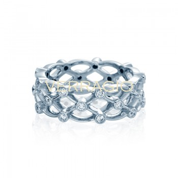 Verragio Eterna Collection Diamond Eternity Band WED-4025-Gold