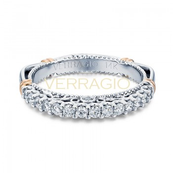 Verragio Parisian Collection 14k Gold Wedding Ring D-103MW-GOLD