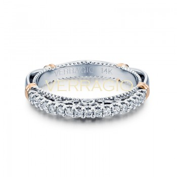 Verragio Parisian Collection 14k Gold Wedding Ring D-103SW-GOLD
