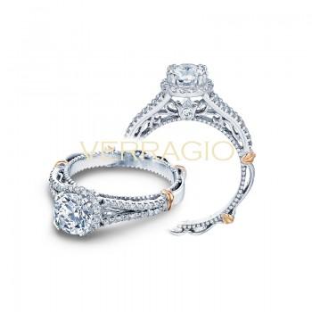 Verragio Parisian Collection Engagement Ring D-107R-GOLD