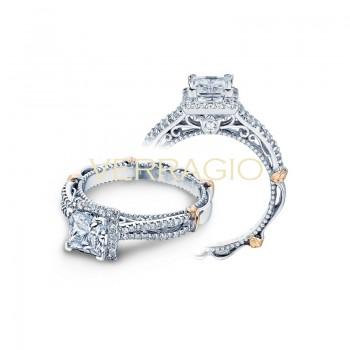 Verragio Parisian Collection Engagement Ring D-110P-GOLD