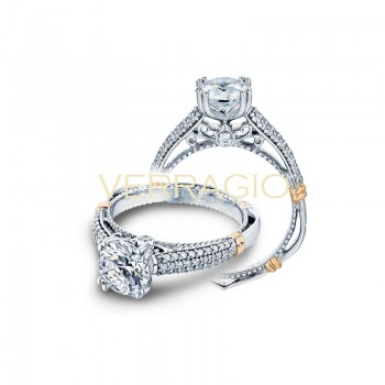 Verragio Parisian Collection Engagement Ring D-114-GOLD