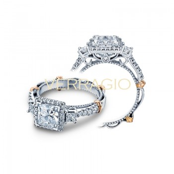 Verragio Parisian Collection Engagement Ring D-122P-GOLD