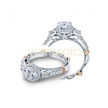 Verragio Parisian Collection Engagement Ring D-122R-GOLD