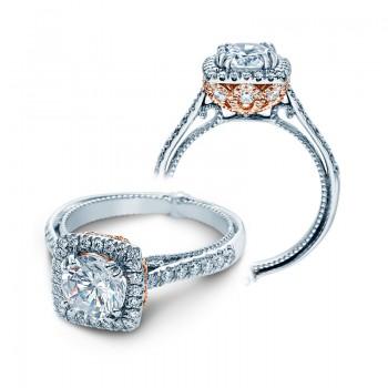 Verragio Halo Prong-Set Diamond Engagement Ring