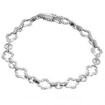 Stylish Zeghani Diamond Fashion Bracelet.