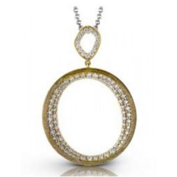 Stylish 14K Zeghani Pendant