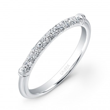 Unity Collection 14K White Gold Wedding Band UWB015