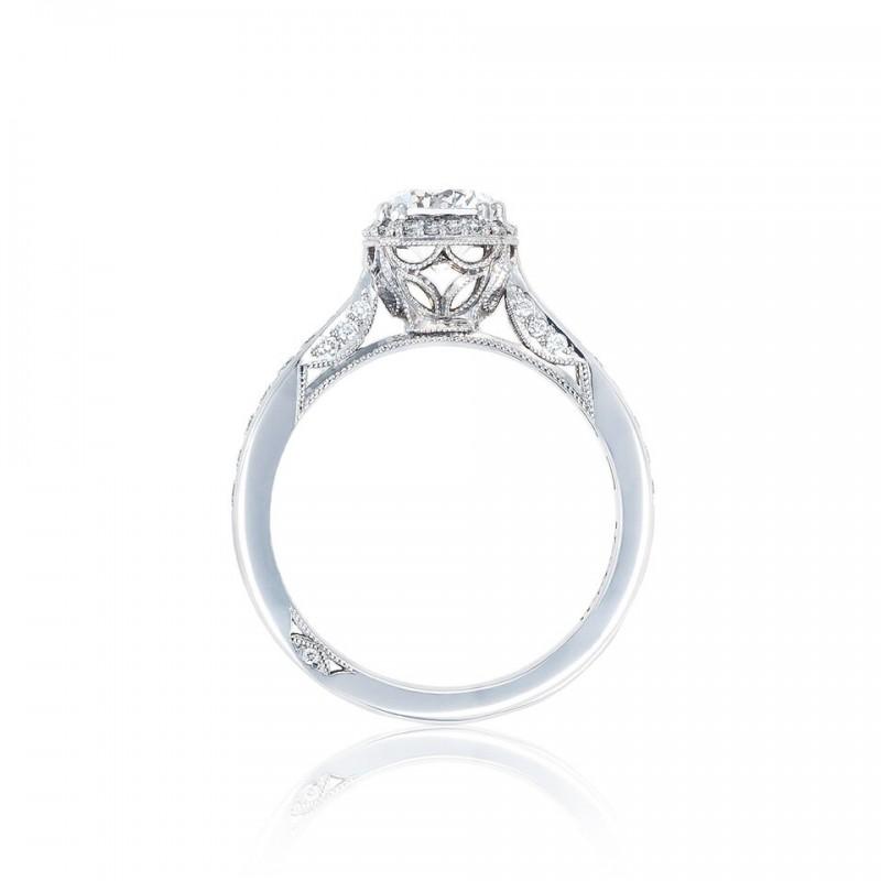 Tacori 2646-25RDC65 18 Karat Dantela Engagement Ring