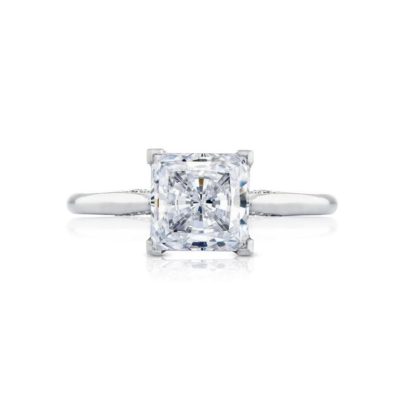 2650PR7 Platinum Simply Tacori Engagement Ring
