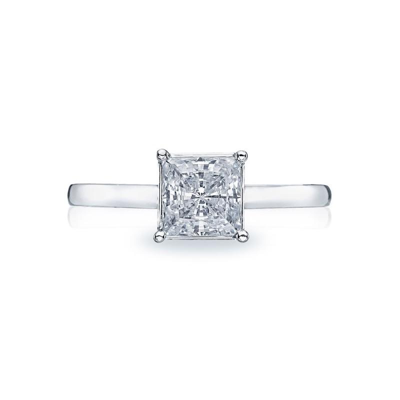 Simply Tacori Platinum Diamond Solitaire Engagement Ring 50PR6
