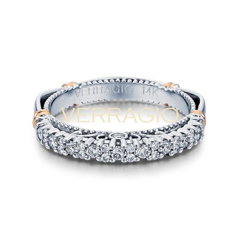 Verragio Parisian Collection 14k Gold Wedding Ring D-113W-GOLD