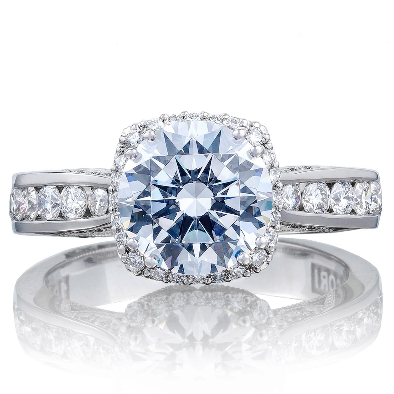 Tacori 2646-35RDC8 18 Karat Dantela Engagement Ring