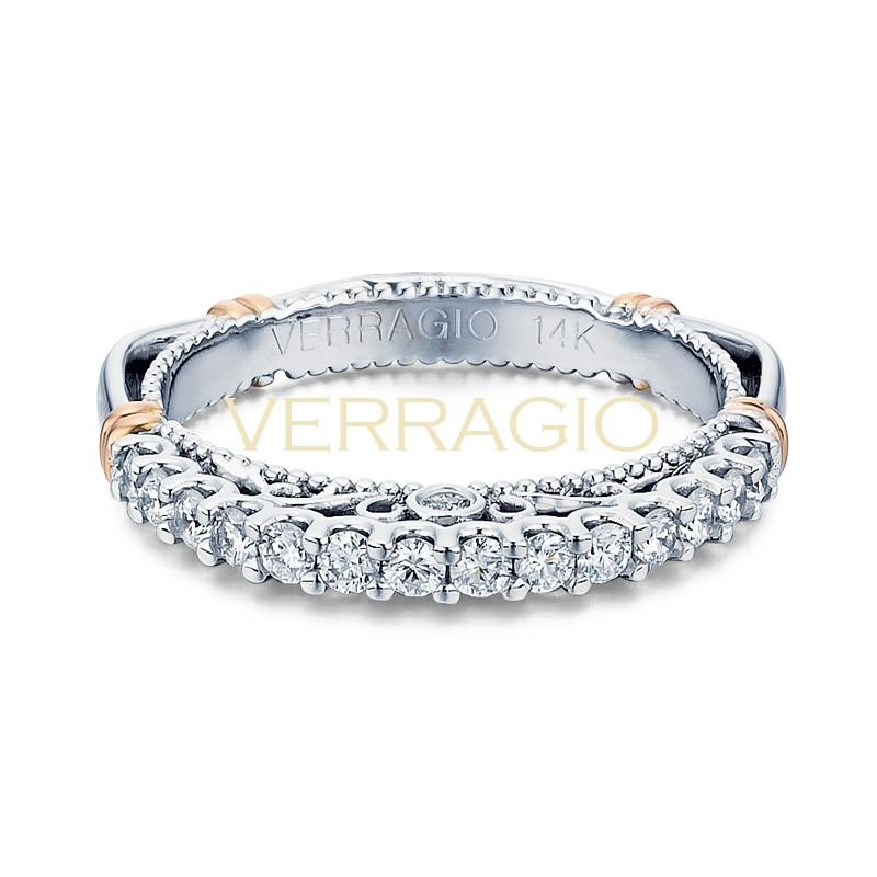 Verragio Parisian Collection 14k Gold Wedding Ring D-103MW-GOLD