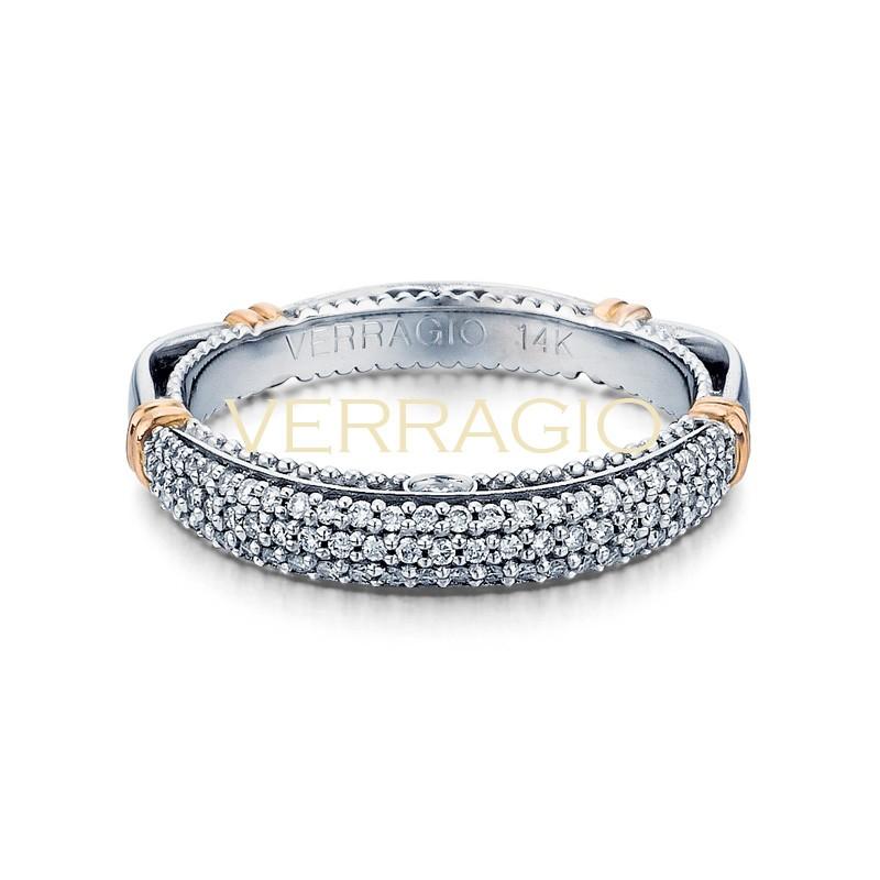 Verragio Parisian Collection 14k Gold Wedding Ring D-114W-GOLD