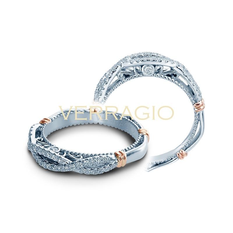 Verragio Parisian Collection Diamond Weding Band D-130W-GOLD