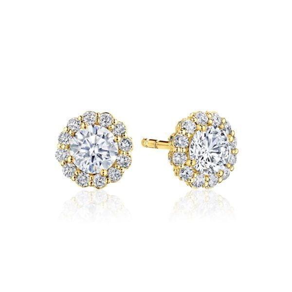 Full Bloom Diamond Stud Earrings