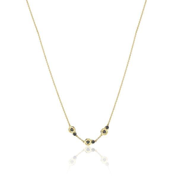 Petite Gemstone Necklace with Black Onyx