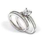 Exquisite Zeghani Diamond Wedding Set
