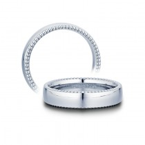 Verragio Beaded Men's Wedding Band-5mm